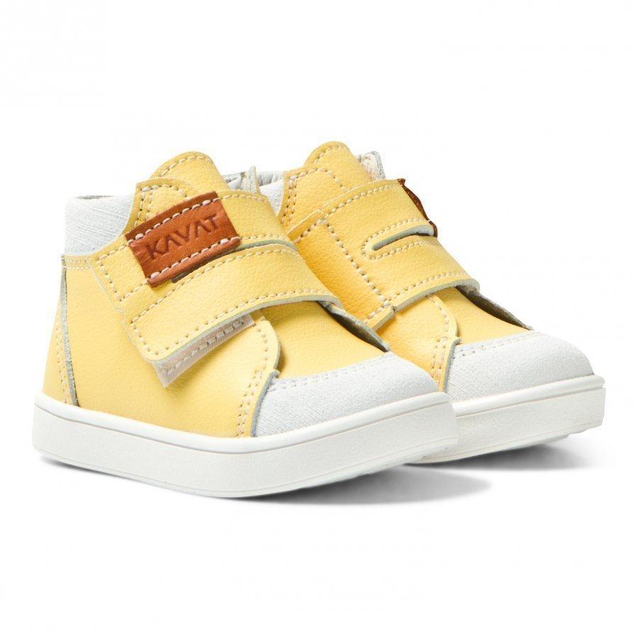 Kavat Fiskeby Xc Yellow Korkeavartiset Kengät