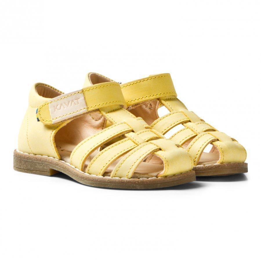 Kavat Forsvik Ep Sandals Yellow Remmisandaalit