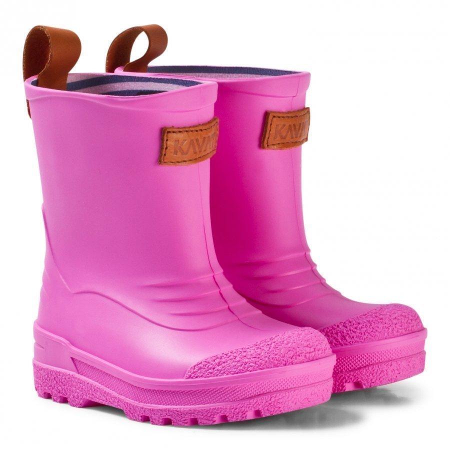 Kavat Grytgöl Wp Pink Kumisaappaat