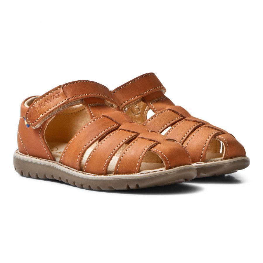 Kavat Hällevik Ep Sandals Light Brown Remmisandaalit