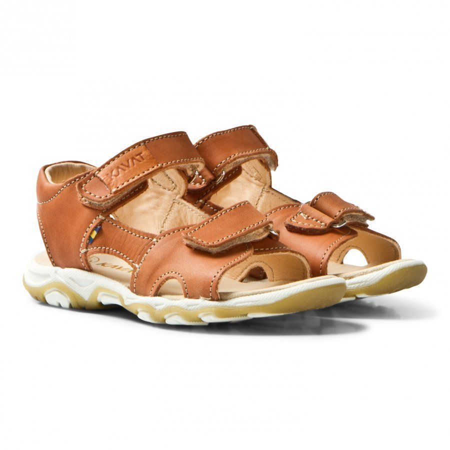 Kavat Nyby Ep Sandals Light Brown Remmisandaalit