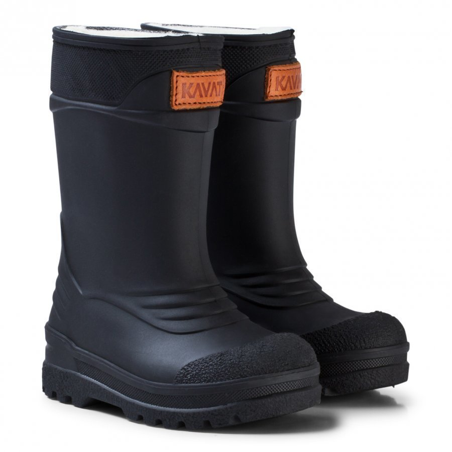 Kavat Pöl Wp Wellies Black Kumisaappaat