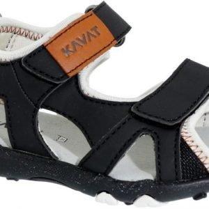 Kavat Sandaalit Tekstiiliä Rio Black