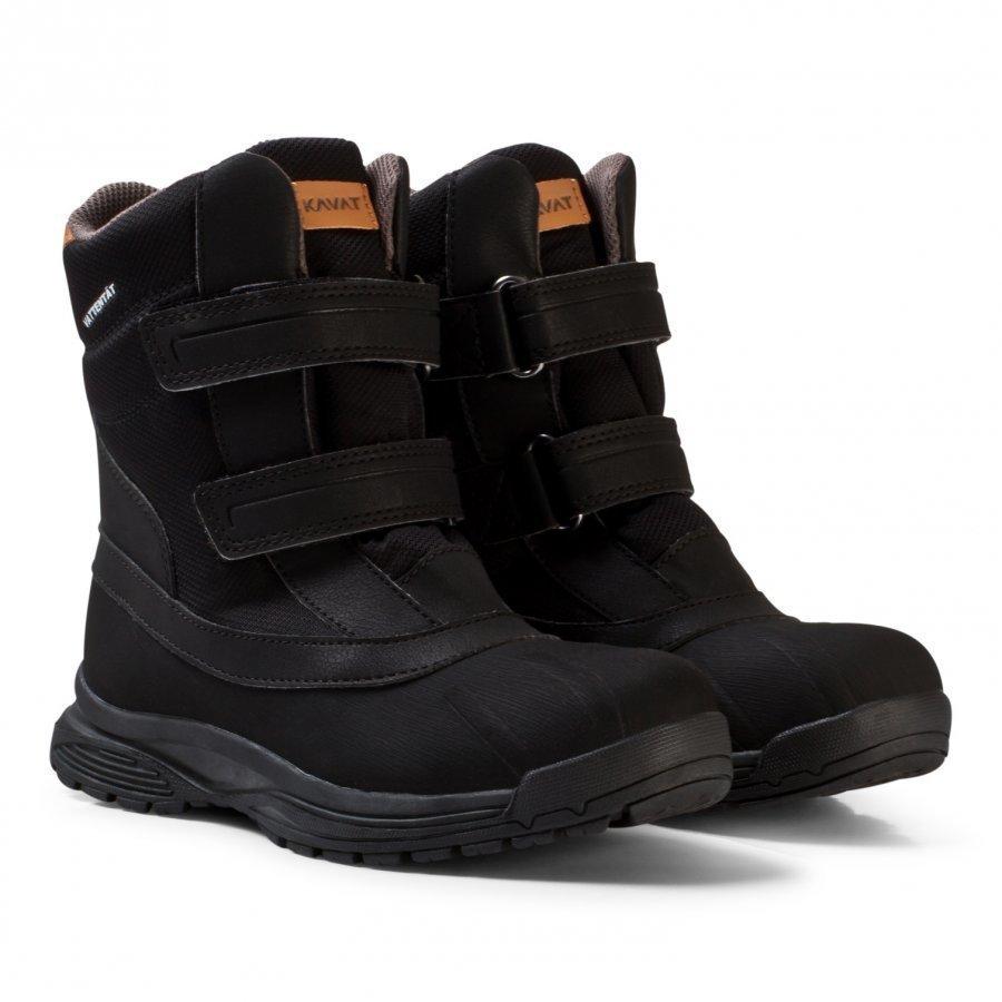 Kavat Svartvik Wp Winter Boots Black Talvisaappaat