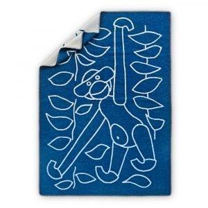 Kay Bojesen Huopa Sininen 120x80 Cm