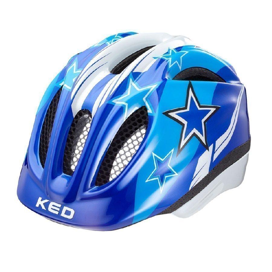 Ked Meggy Lasten Pyöräilykypärä Blue Stars Xs