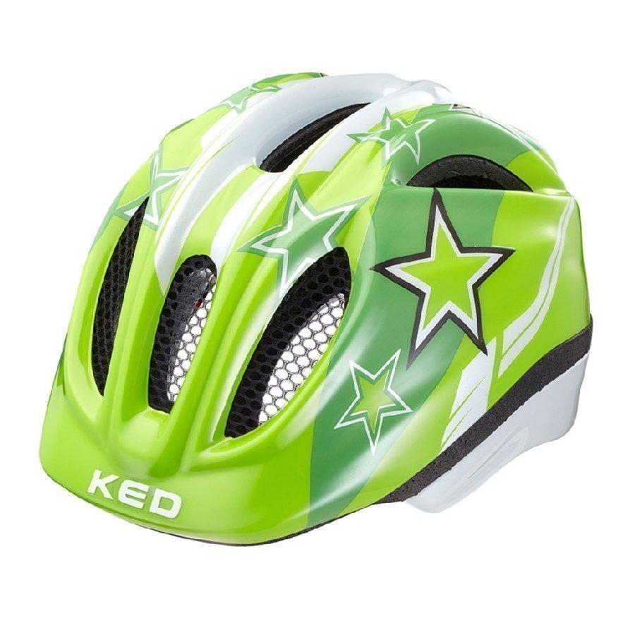 Ked Meggy Lasten Pyöräilykypärä Green Stars Xs