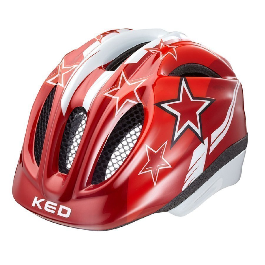 Ked Meggy Lasten Pyöräilykypärä Red Stars Xs