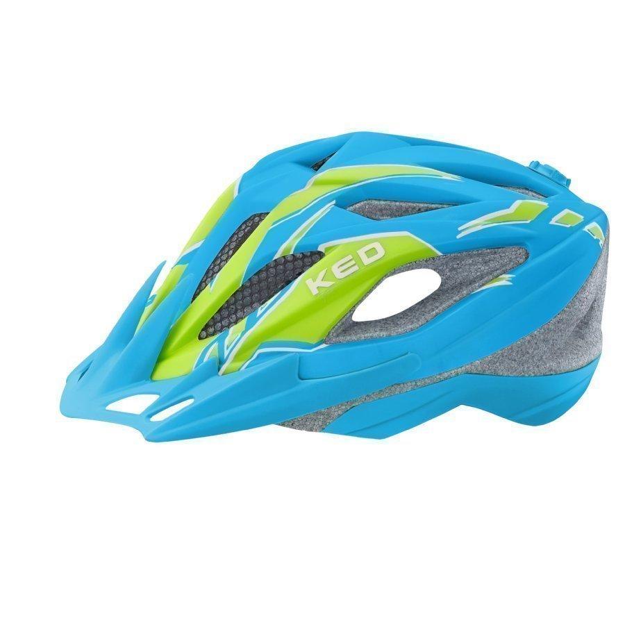 Ked Street Junior Pro Lasten Pyöräilykypärä Blue Green Matt M