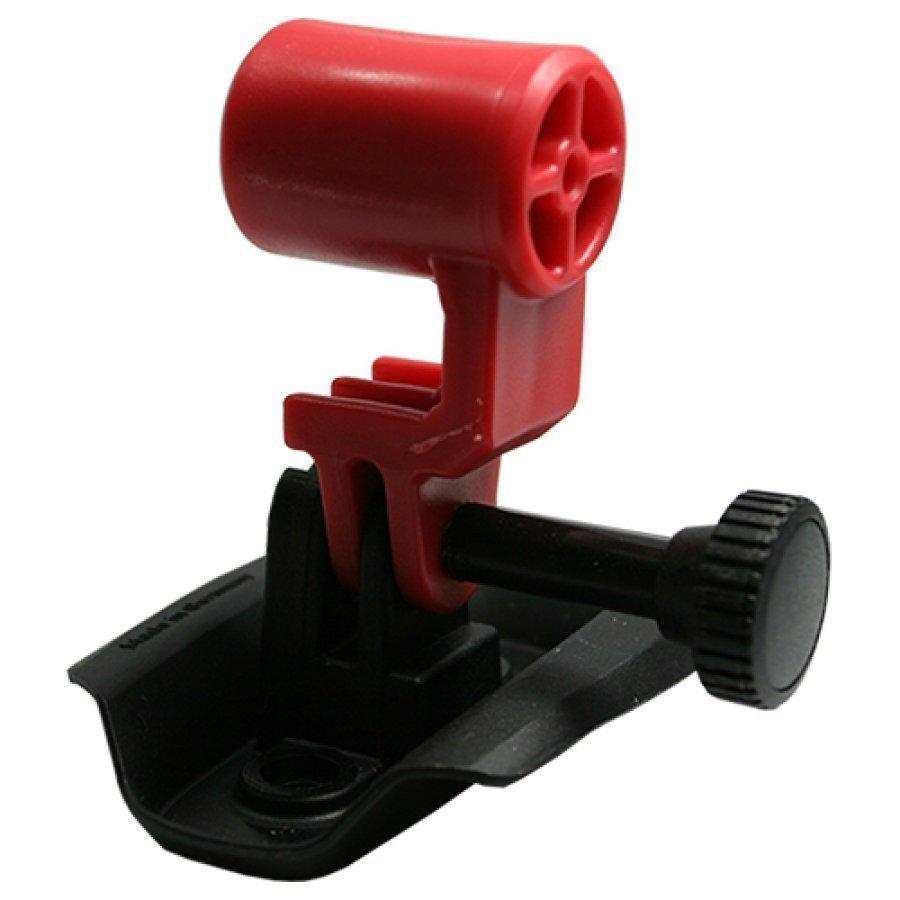 Ked Trailon Actioncam Kameranpidike Kypärään Red