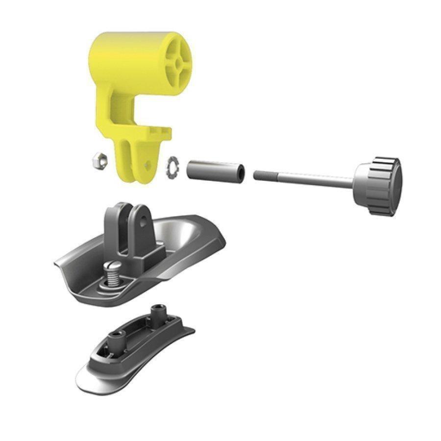 Ked Trailon Actioncam Kameranpidike Kypärään Yellow