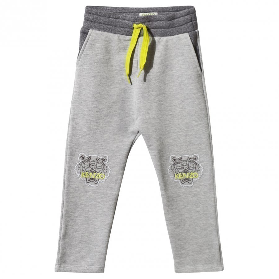 Kenzo Aelys Sweat Pants Marl Grey Housut
