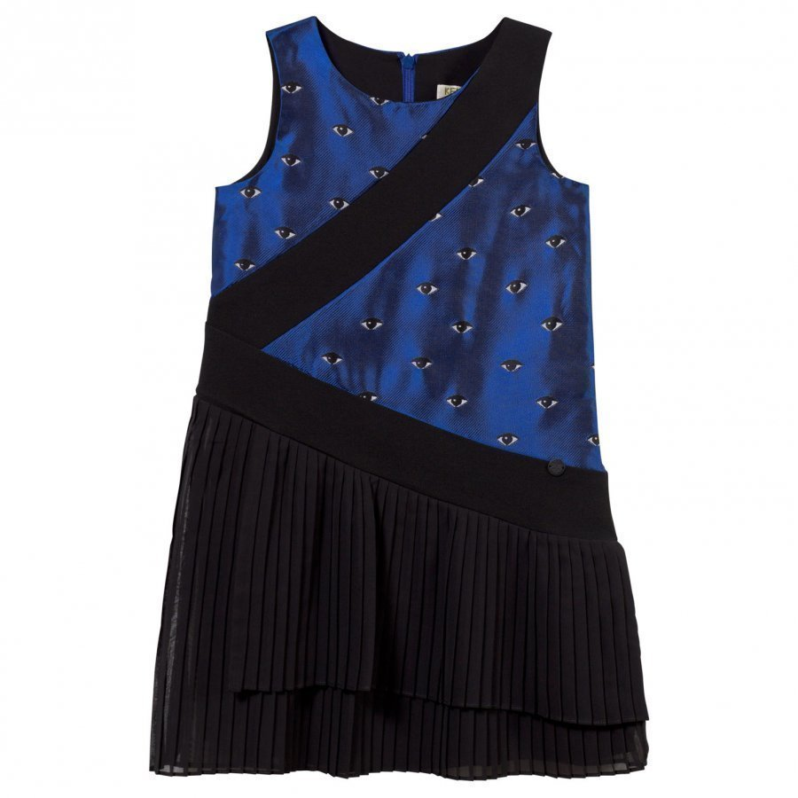 Kenzo Amaya Dress Electric Blue Mekko