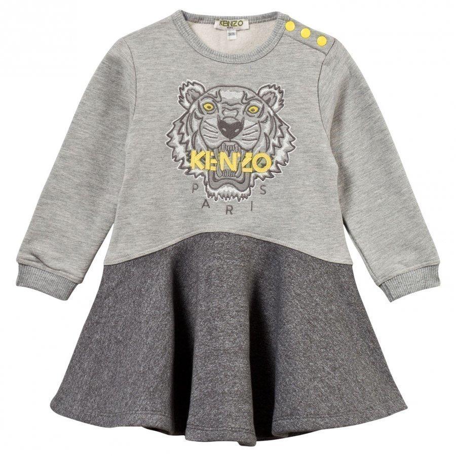 Kenzo Anceline Dress Marl Grey Mekko