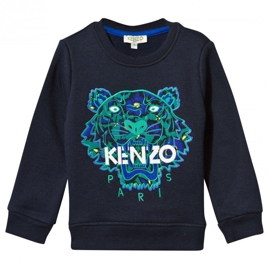 Kenzo Arine Sweatshirt Midnight Blue Oloasun Paita
