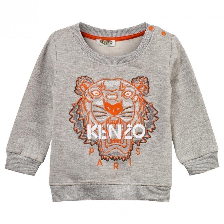 Kenzo Arnaud Sweatshirt Marl Grey Oloasun Paita