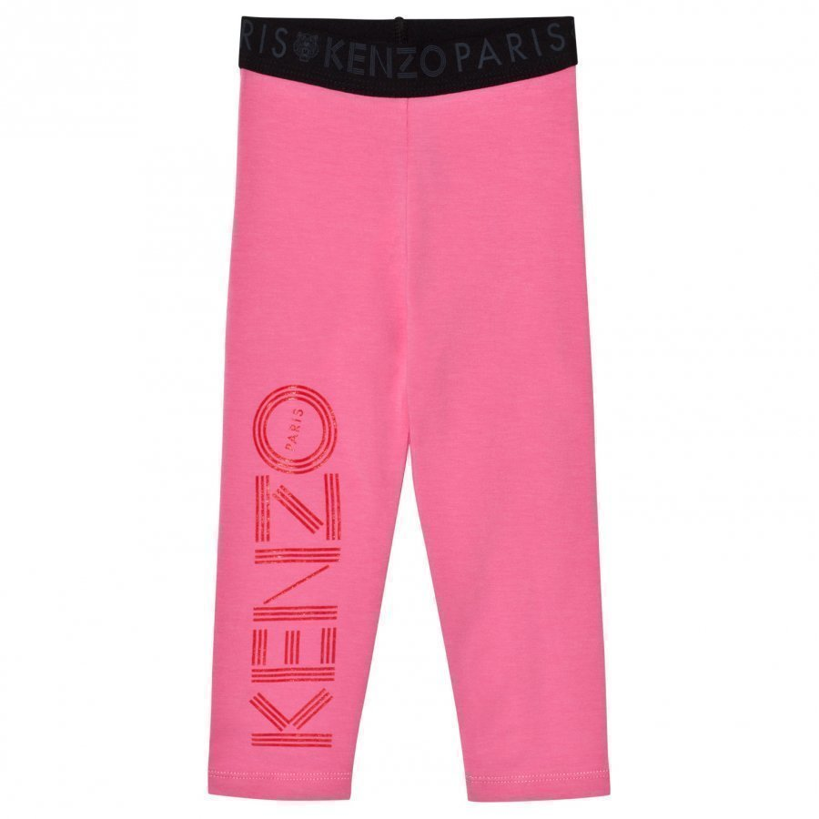Kenzo Branded Leggings Pink Legginsit