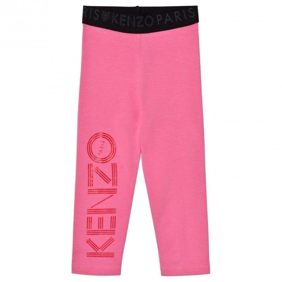 Kenzo Branded Leggings Pink Legginsit