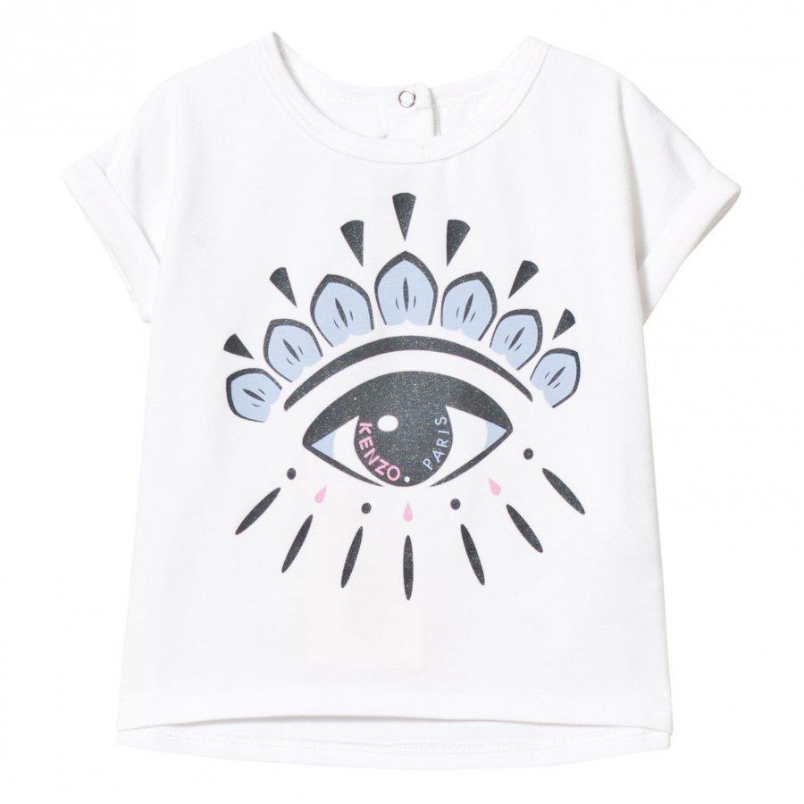 Kenzo Eye Print Tee White T-Paita