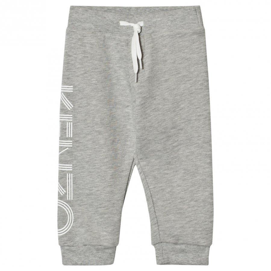 Kenzo Grey Marl Branded Sweatpants Verryttelyhousut