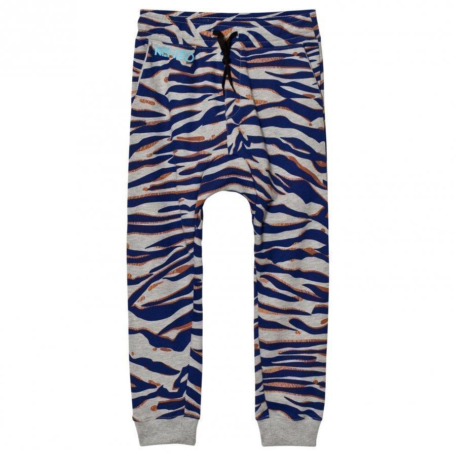 Kenzo Grey Multi Print Sweat Pants Verryttelyhousut