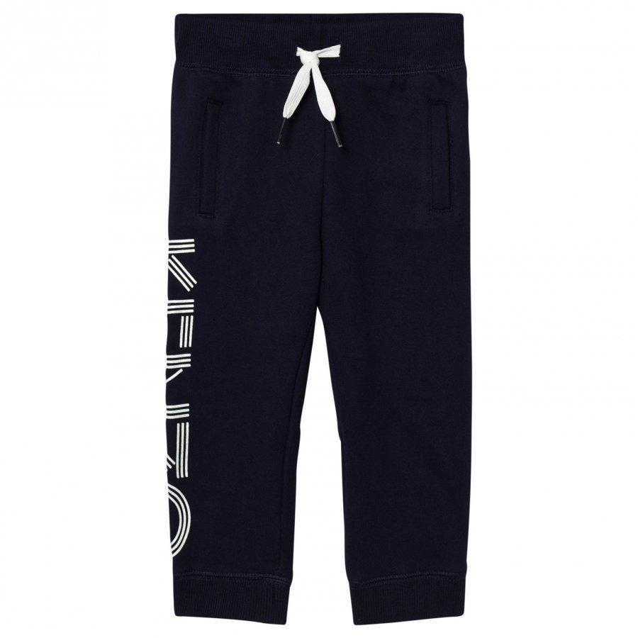 Kenzo Navy Branded Sweat Pants Verryttelyhousut