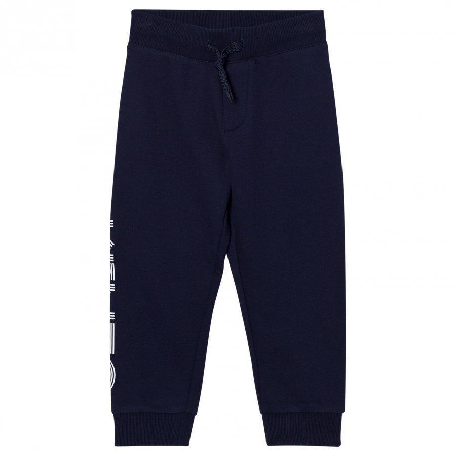 Kenzo Navy Kenzo Logo Sweat Pants Verryttelyhousut