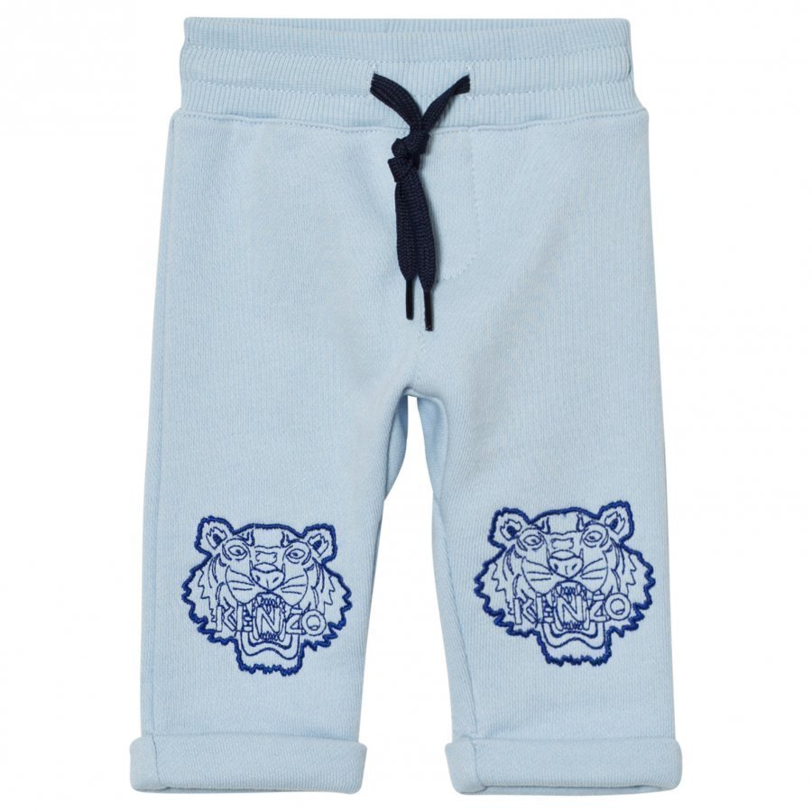 Kenzo Pale Blue Tiger Sweat Pants Oloasun Paita