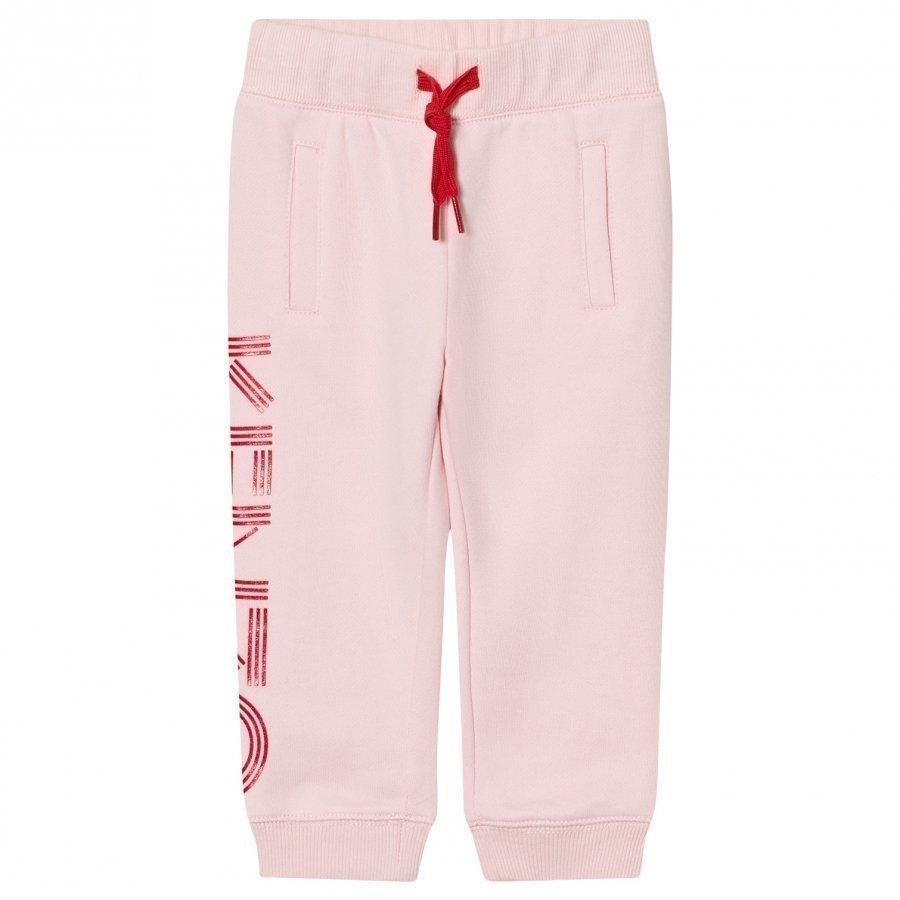 Kenzo Pink Branded Sweat Pants Verryttelyhousut