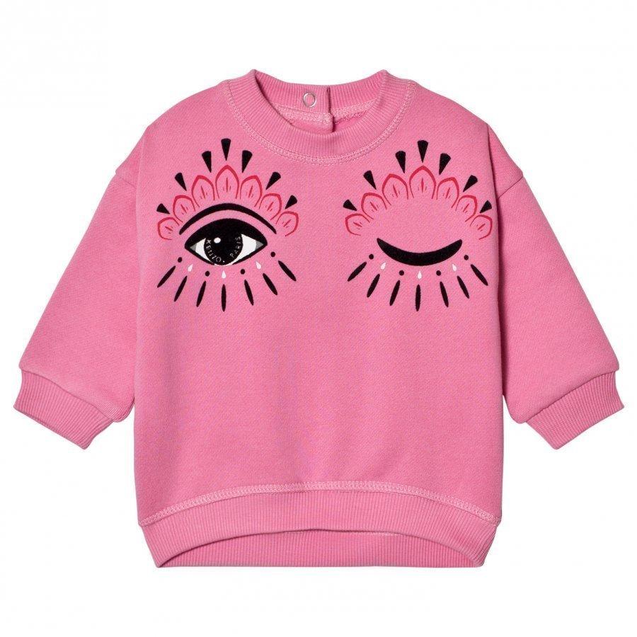 Kenzo Pink Eye Print Sweatshirt Oloasun Paita