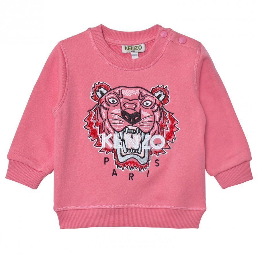 Kenzo Pink Tiger Embroidered Sweatshirt Oloasun Paita