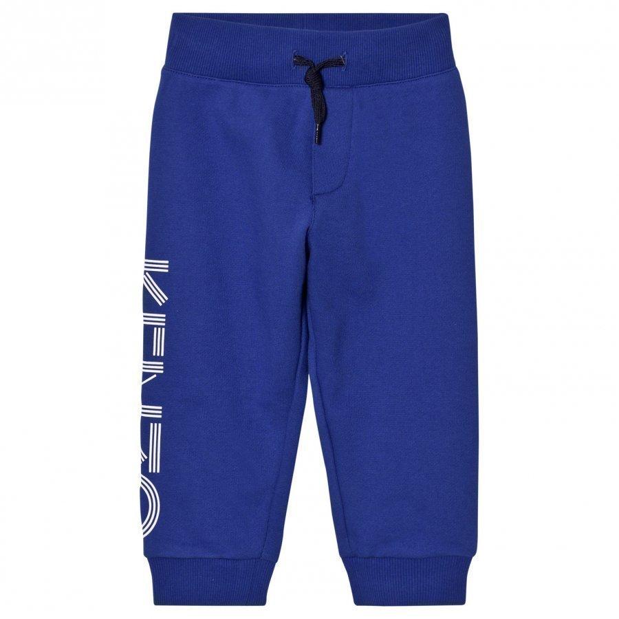 Kenzo Royal Blue Kenzo Logo Sweat Pants Verryttelyhousut