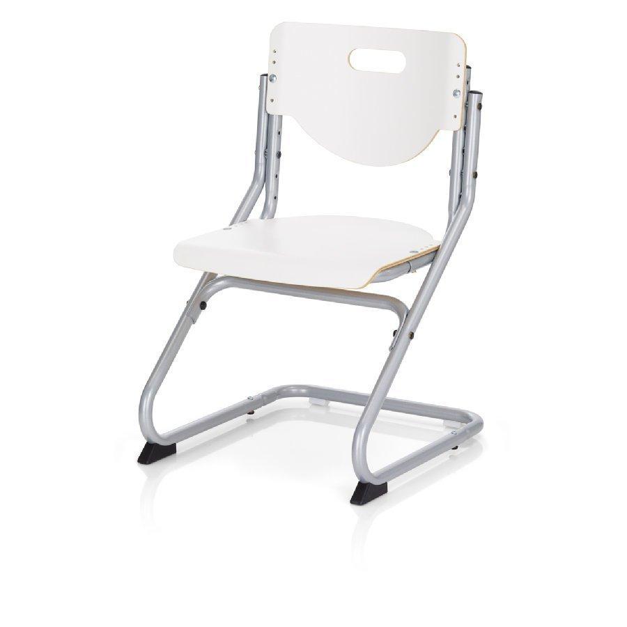 Kettler Chair Plus Tuoli Hopea / Valkoinen