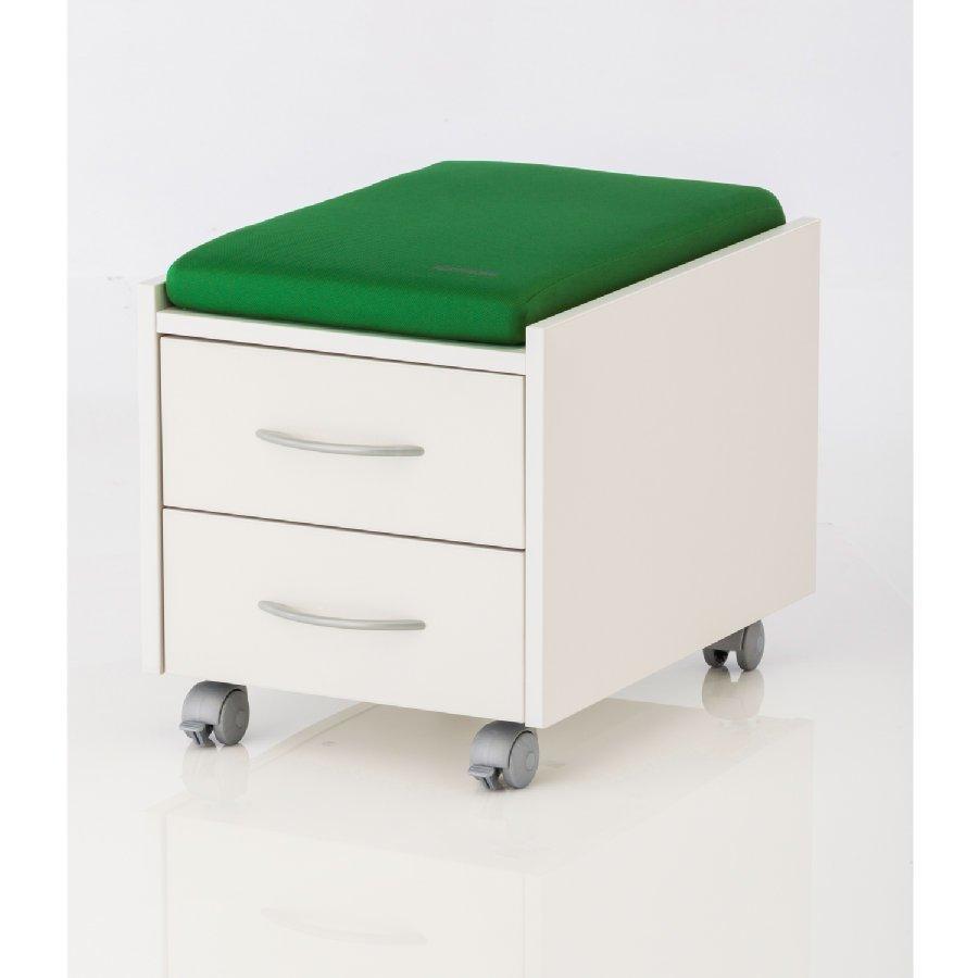 Kettler Istuintyyny Logo Trio Box / Sit On Tummanvihreä