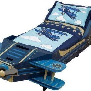 KidKraft Juniorisänky Airplane