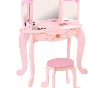 KidKraft Peilipöytä Princess Vaaleanpunainen