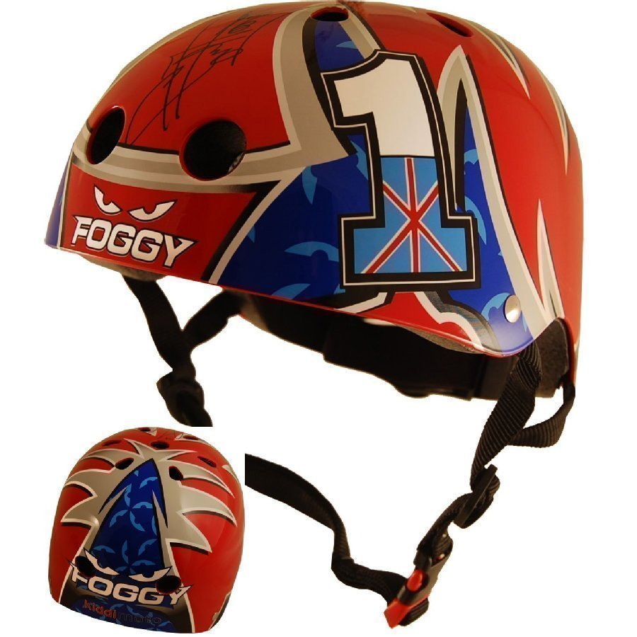 Kiddimoto Kypärä Limited Edition Hero Carl Fogarty S