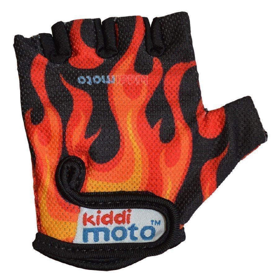 Kiddimoto Pyöräilyhanskat Design Sport Flames S