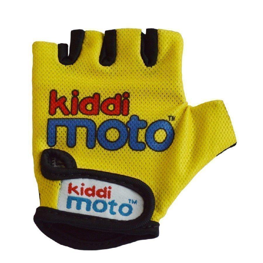 Kiddimoto Pyöräilyhanskat Design Sport Keltainen M