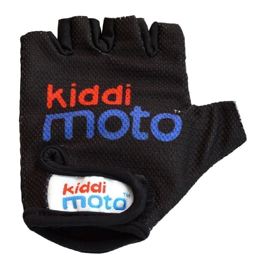 Kiddimoto Pyöräilyhanskat Design Sport Musta M