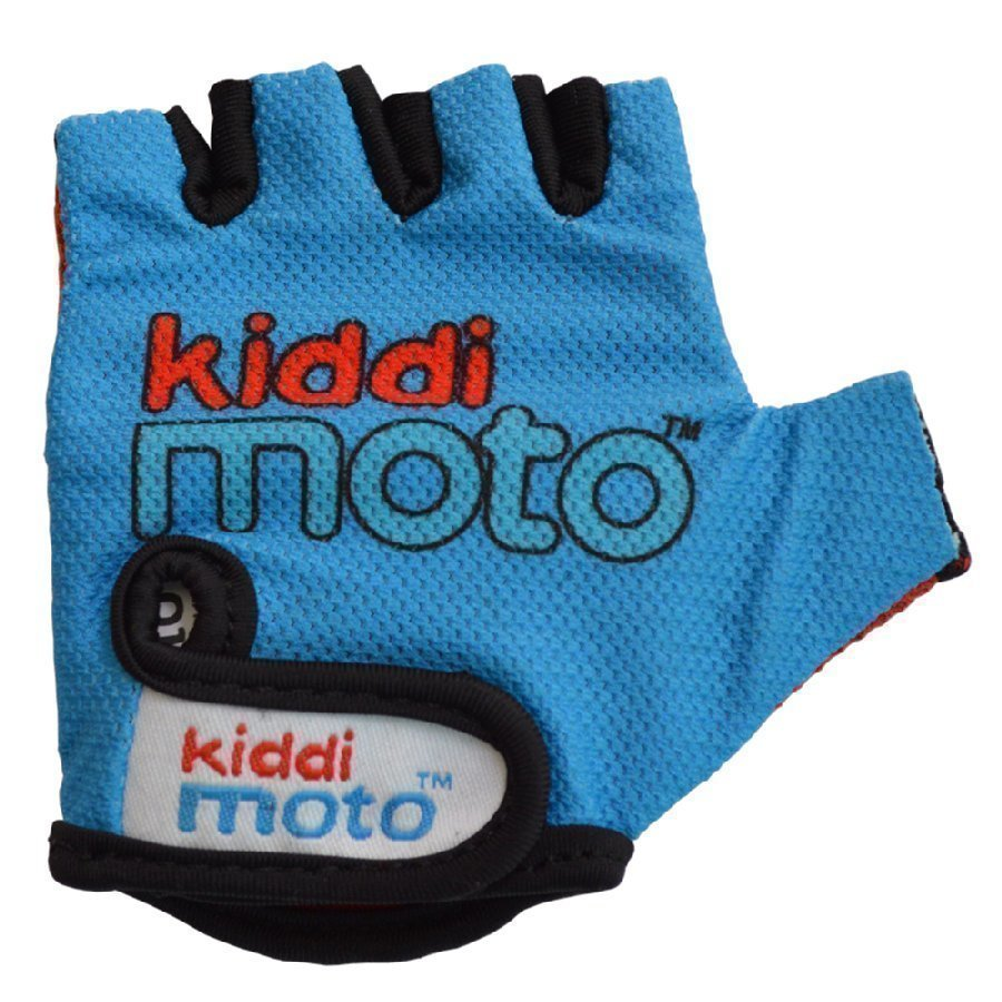 Kiddimoto Pyöräilyhanskat Design Sport Sininen M