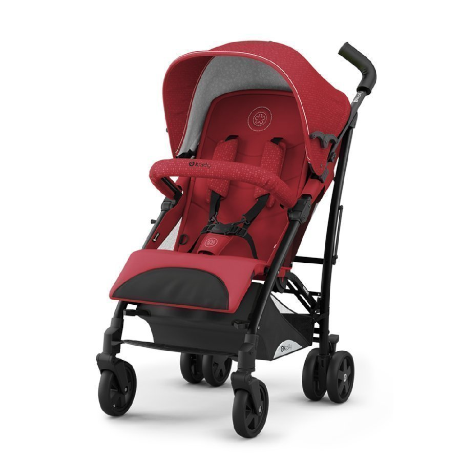 Kiddy Evocity 1 Ruby Red Lastenrattaat
