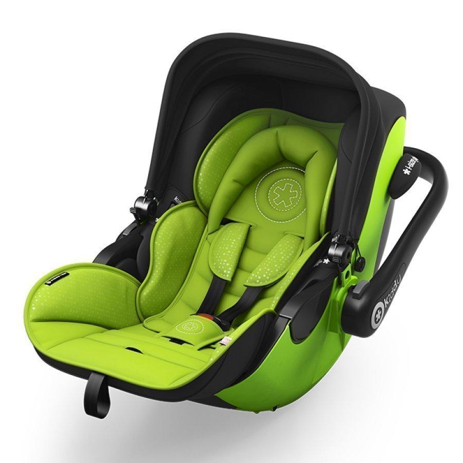 Kiddy Evoluna I Size + Isofix Base 2 2017 Lime Green Turvakaukalo