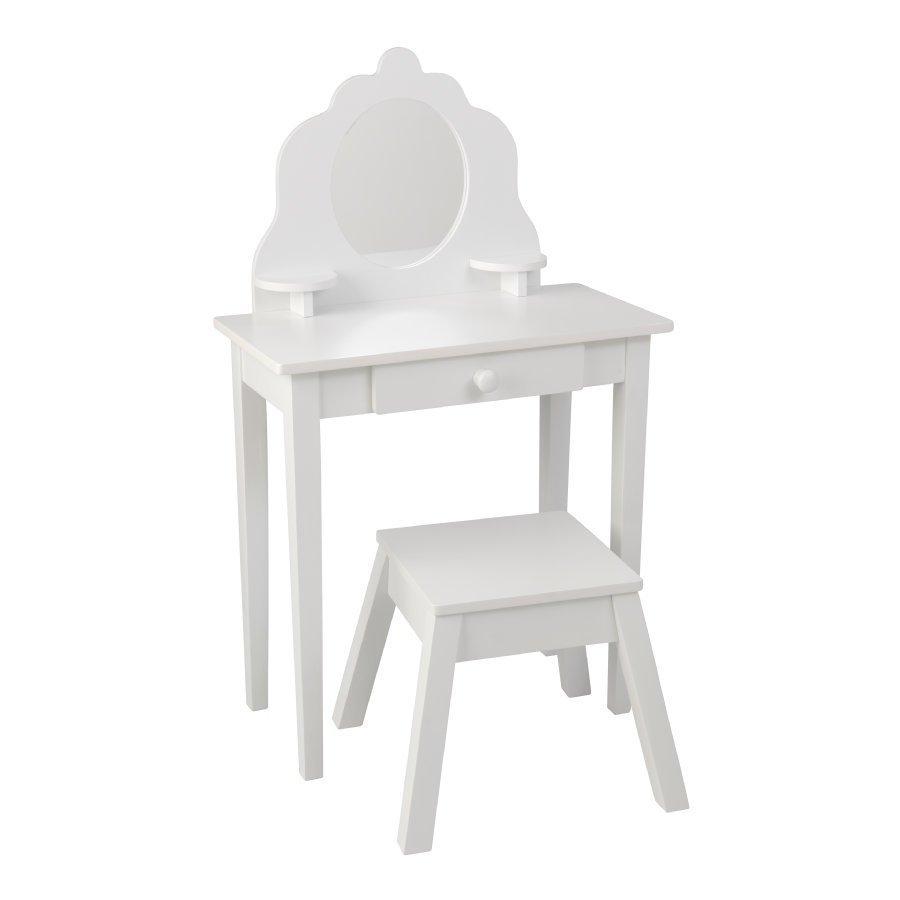 Kidkraft Kampauspöytä Ja Tuoli Valkoinen