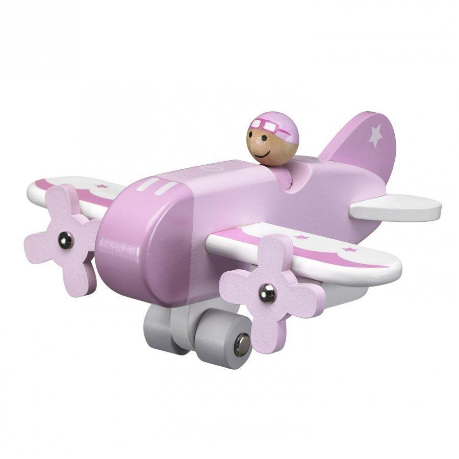 Kids Concept Airplane Pink Leikkilentokone