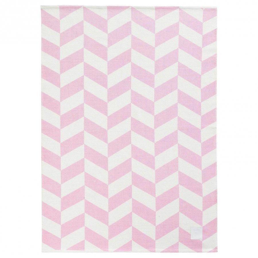 Kids Concept Barnkammaren Cotton Rug Pink Matto