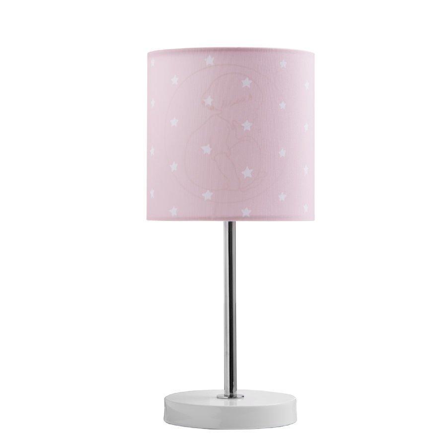 Kids Concept Barnkammaren Pöytälamppu Vaaleanpunainen