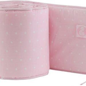 Kids Concept Barnkammaren Pinnasängyn laitapehmuste Vaaleanpunainen
