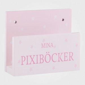 Kids Concept Barnkammaren Pixi Book Shelf Pink Säilytyslaatikko