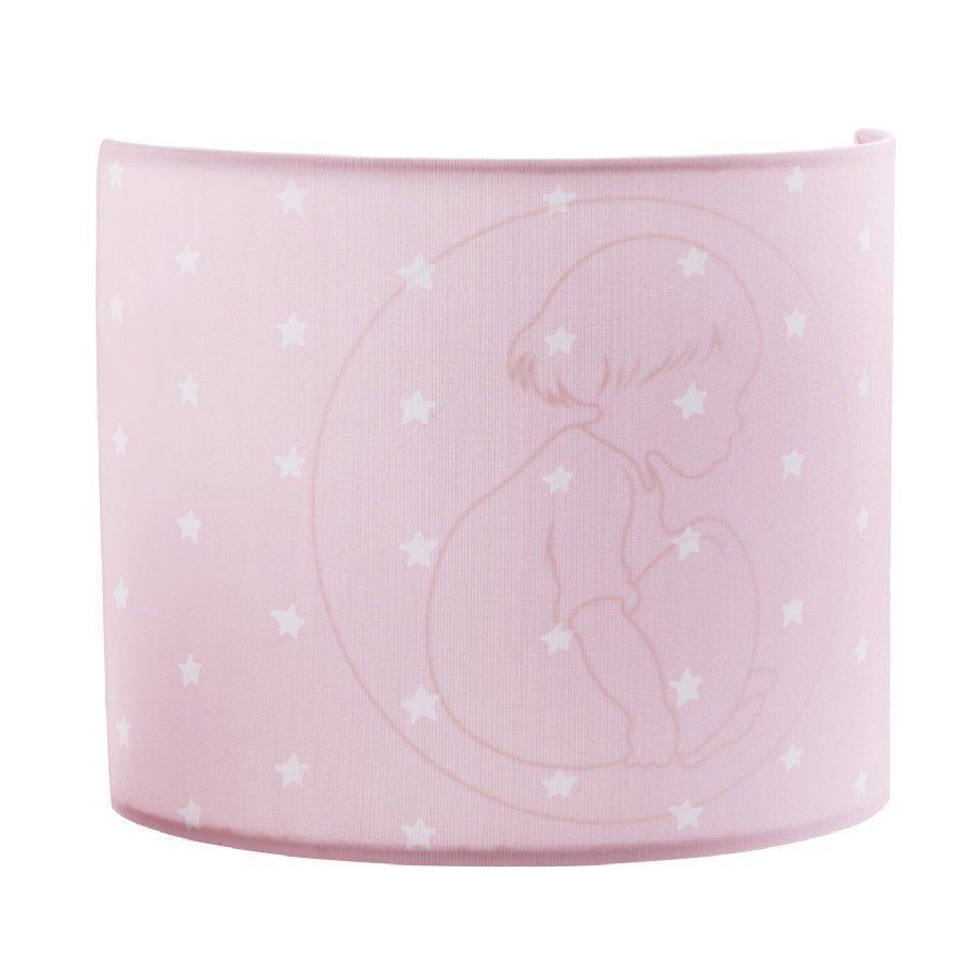 Kids Concept Barnkammaren Seinälamppu Vaaleanpunainen